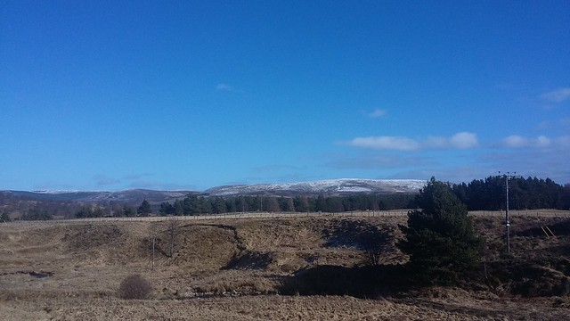 View from Tomatin, March 2020