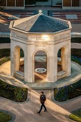 Overlooking the Centennial Pavillion