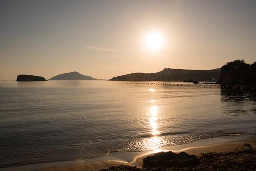 sounion sunset