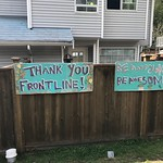Thank You Frontline & Be Awesome