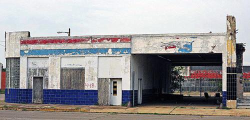 Abandoned Greyhound Bus Station - Port Arthur, Texas