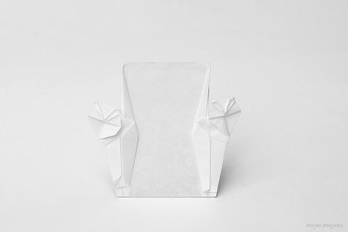 Origami 'Backyard Symphony' (Fred Rohm)