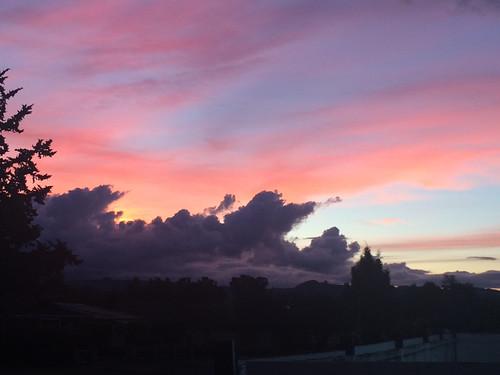 Rotorua sunset