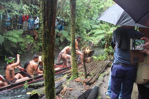Mitai Maori show, Rotorua