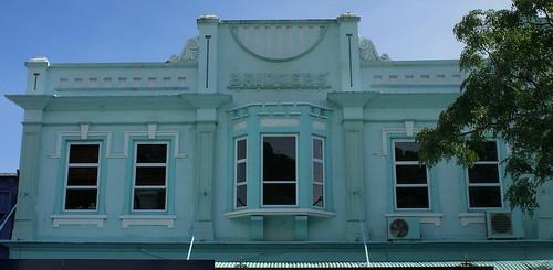 Whakatane facade: Bridgers' Drapers (c.1921)