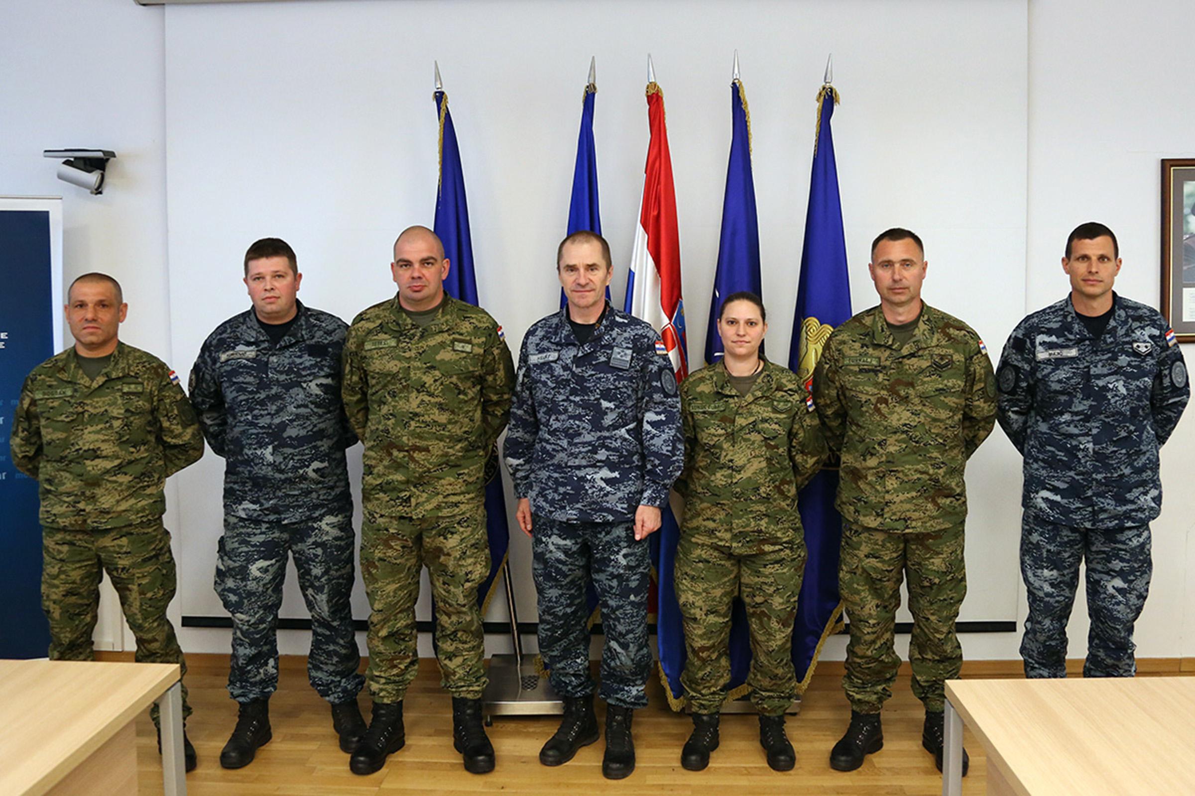 Najbolji vojnici i dočasnici siječnja, veljače i ožujka 2020. godine