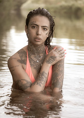 Photo Shoot - Lupe in the Boise River