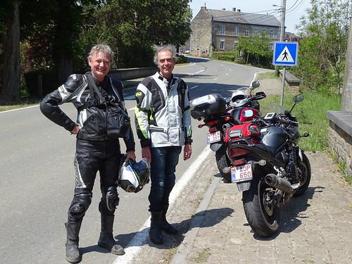 Avec mon ami Benoît