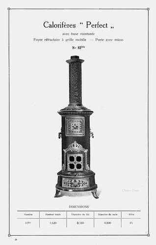 The 'Perfect' Stove.  La Couvinoise, S.A.. 1931