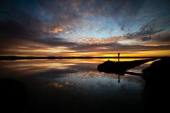 Saline Sunset #1