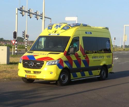 Ambulance   16-165 / G-810-TP   RAV Hollands Midden