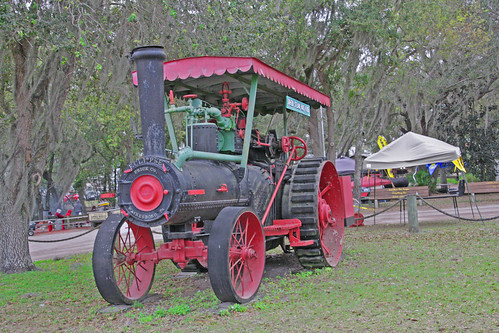 Steam Tractor, Tractor & Flywheel Engine Show, Ft Meade, FL (1 of 2)