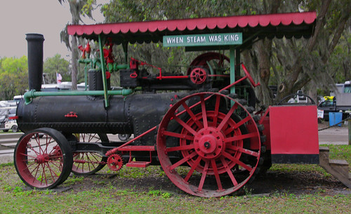 Steam Tractor, Tractor & Flywheel Engine Show, Ft Meade, FL (2 of 2)