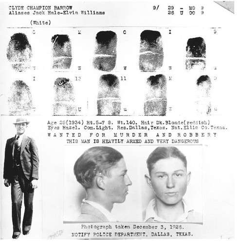 Wanted Poster - Clyde Barrow