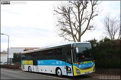 Iveco Bus Crossway – Autocars Maisonneuve n°1412 / Auvergne-Rhône-Alpes / STAS (Société de Transports de l'Agglomération Stéphanoise) n°624