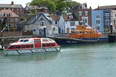 Aurora Tender 10 & Weymouth Lifeboat