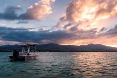 Vue sur Basse-Terre depuis l'îlet Caret, Grand Cul-de-sac marin, Guadeloupe