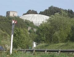 La Cupole V2 launch site from CFT de la Vallée de l'Aa: Arques-Lumbres Railway, Nord pas de Calais, France 27th July 2004 - Photo of Avroult