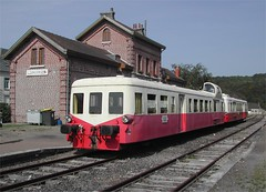 Gare du Lumbres: CFT de la Vallée de l'Aa: Arques-Lumbres Railway, Nord pas de Calais, France 27th July 2004