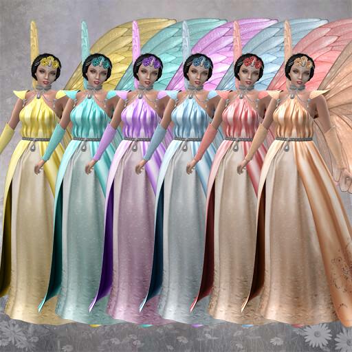 Petite Fairy Queen Colors