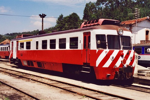 Allan railcar class 9300