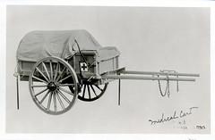 Medicine - Military - Equipment: Medical cart