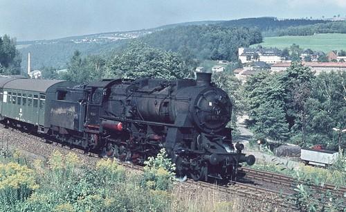 DR 58 1934-7 (ex 58 1934; ex P.St.B. G 12 5561 Erfurt; LHW 1920) Bw Aue
