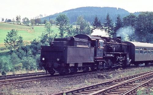 DR 58 2051-9 (ex 58 2051; ex P.St.B. G 12 5565 Hannover; Rheinmetall 1921) Bw Aue