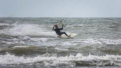 Surfing 22 mei in De Haan