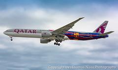 Qatar Airways, A7-BAE : FC Barcelona