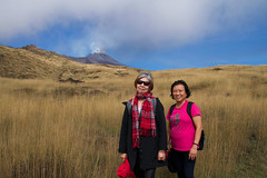 Friends, Mount Etna, Catania, Sicily, 意大利