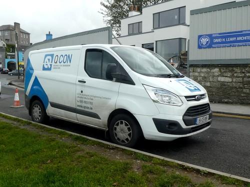Ford Transit Custom in Kinvara, Ireland (1)