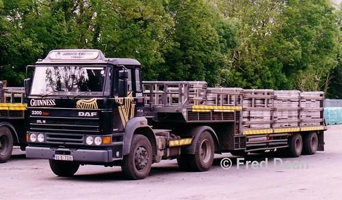 Irish Rail Road Fleet DAF 2300 DTL16 (93D7329).