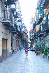 Old Town, Palermo, Sicily, 意大利