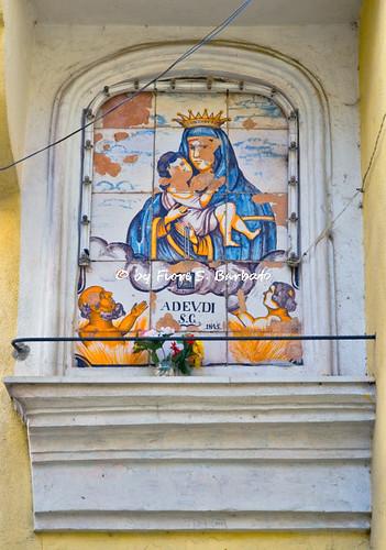 Cava de' Tirreni (SA), 2008, Sul Monte San Liberatore. La frazione Alessia.