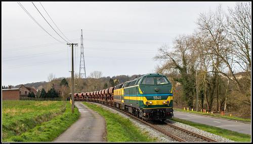 TUC-Rail 5540 + 5508 I 93852 I Tubize