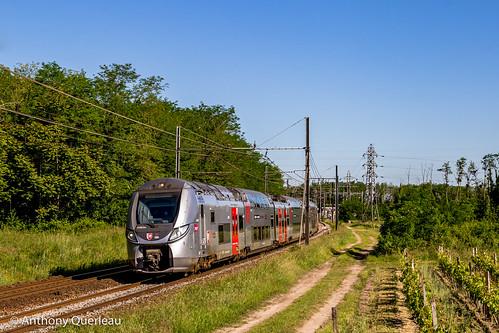 18 mai 2020 z 56325 Train 866711 Bordeaux-St-Jean -> Langon Podensac (33)