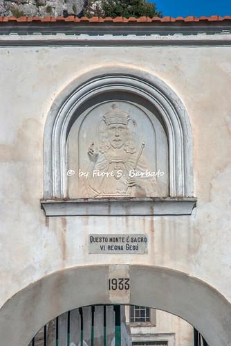 Cava de' Tirreni (SA), 2008, Sul Monte San Liberatore. L'eremo di San Liberatore Martire.