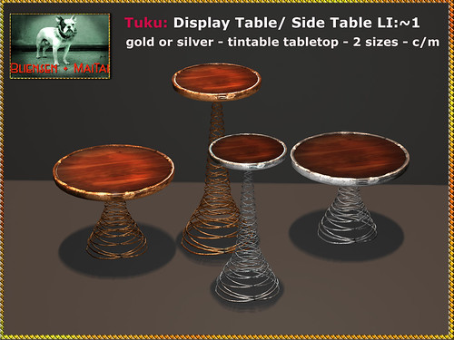 Bliensen - Tuku - Display Table Side Table