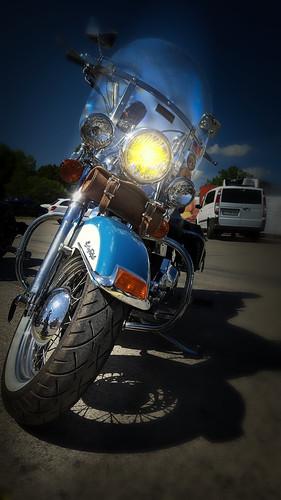 A motorcyclist`s dream