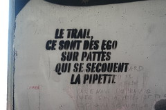 Le Trail @ Beneath the interchange @ Pringy