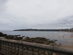 Playa de San Lorenzo. Gijón (Asturias).