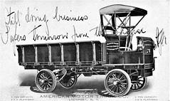 1907 American Motor Truck with Box Body