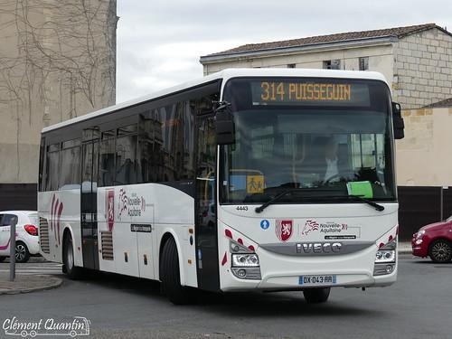 IVECO Crossway Pop - 4443 - Prévost SA