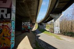Beneath the interchange @ Pringy
