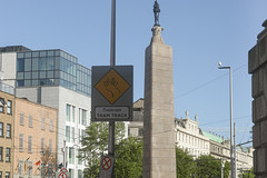VIEWS OF THE CHARLES STEWART PARNELL MONUMENT [UPPER O'CONNELL STREET DUBLIN]-161741