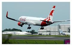 RV/ROU Air Canada Rouge Boeing 767 C-FMWY
