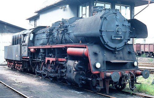 DR 58 3031 (Reko Raw Zwickau 20.04.1960 ex 58 1776; ex P.St.B. G 12 5678 Trier; Hanomag 1920) Bw Glauchau Z