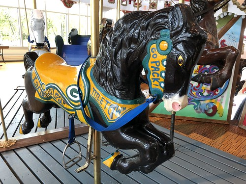 Packers carousel horse