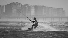 Surfing in Zeebrugge 23 mei